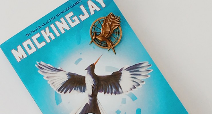 Giveaway for a Copy of Mockingjay and a Mockingjay Pin