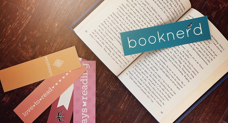 Free Set of Printable Bookmarks for Booklovers