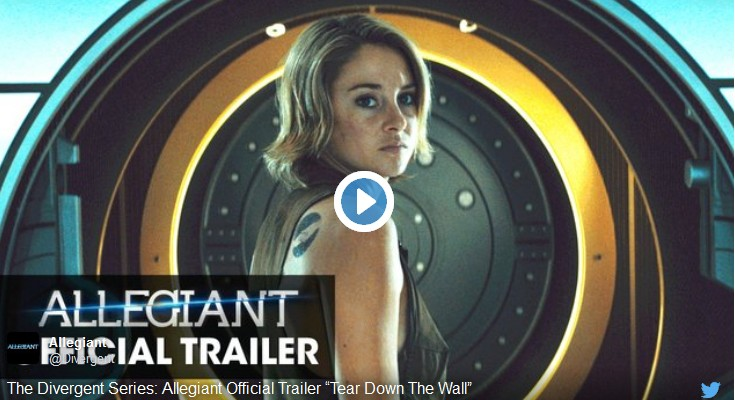 New Allegiant Trailer, Divergent Book SUPER CHEAP and Other Freebies