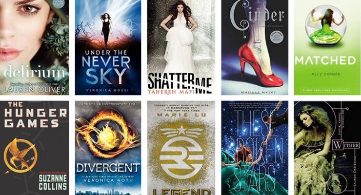 Win 10 Dystopian Young Adult Books