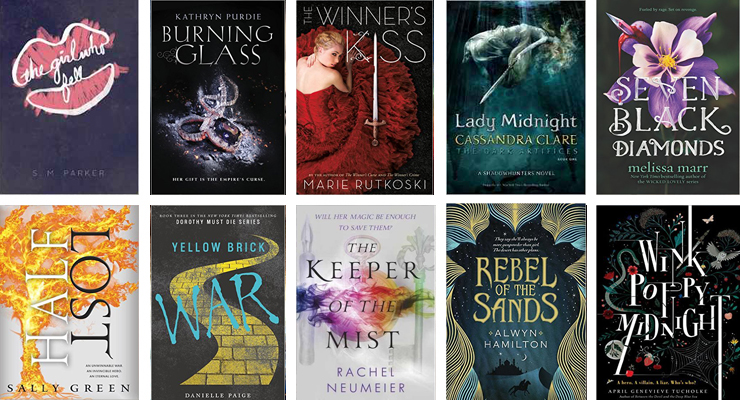 Epic YA Book Releases for March 2016