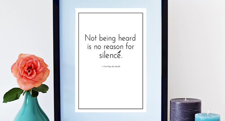 Free Inspirational Book Quote Printable