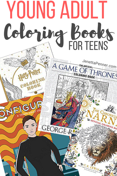 Young Adult Coloring Books 2