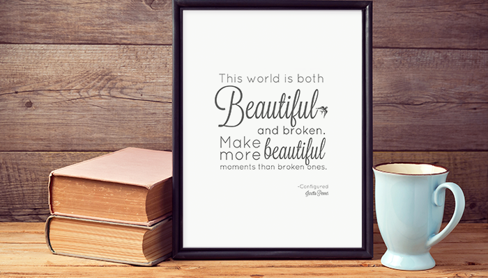 Free Printable Quote From Configured